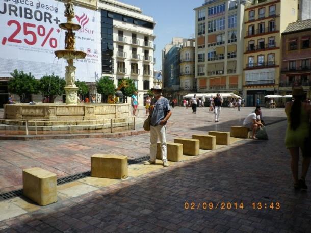 Malaga (me as tourist) (2)